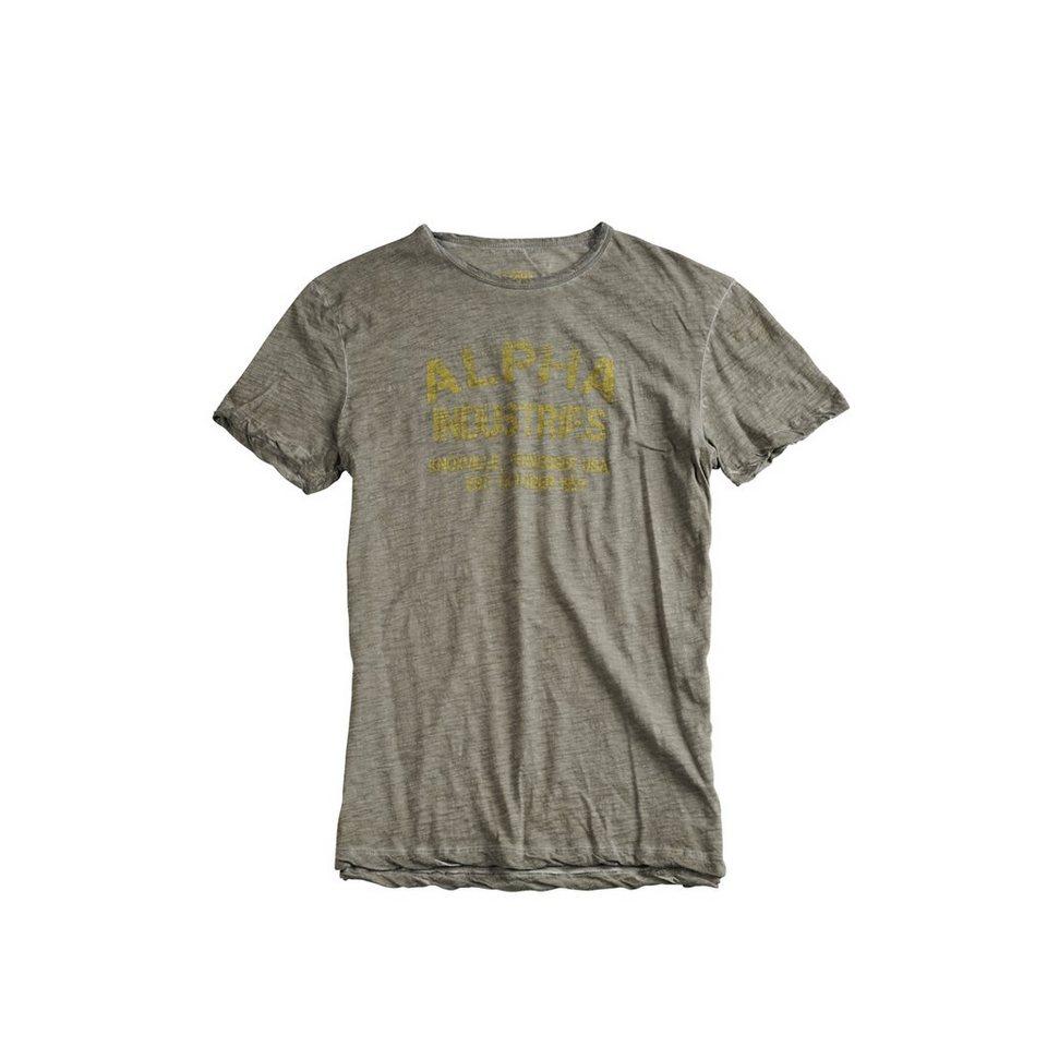 ALPHA INDUSTRIES T-Shirt »Desert War T« in olive