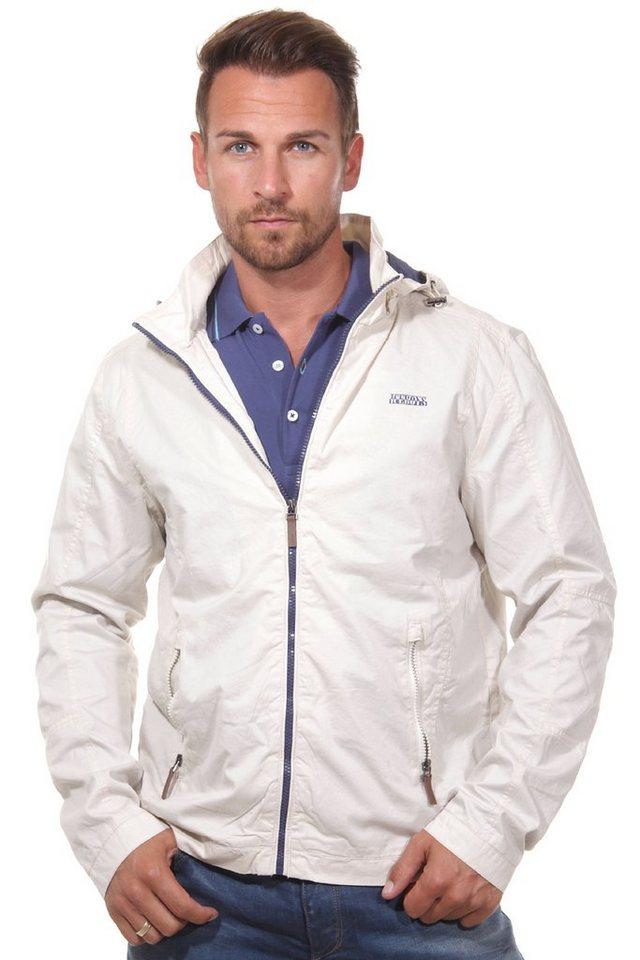 OBOY Streetwear Jacke mit Kapuze regular fit in ecru