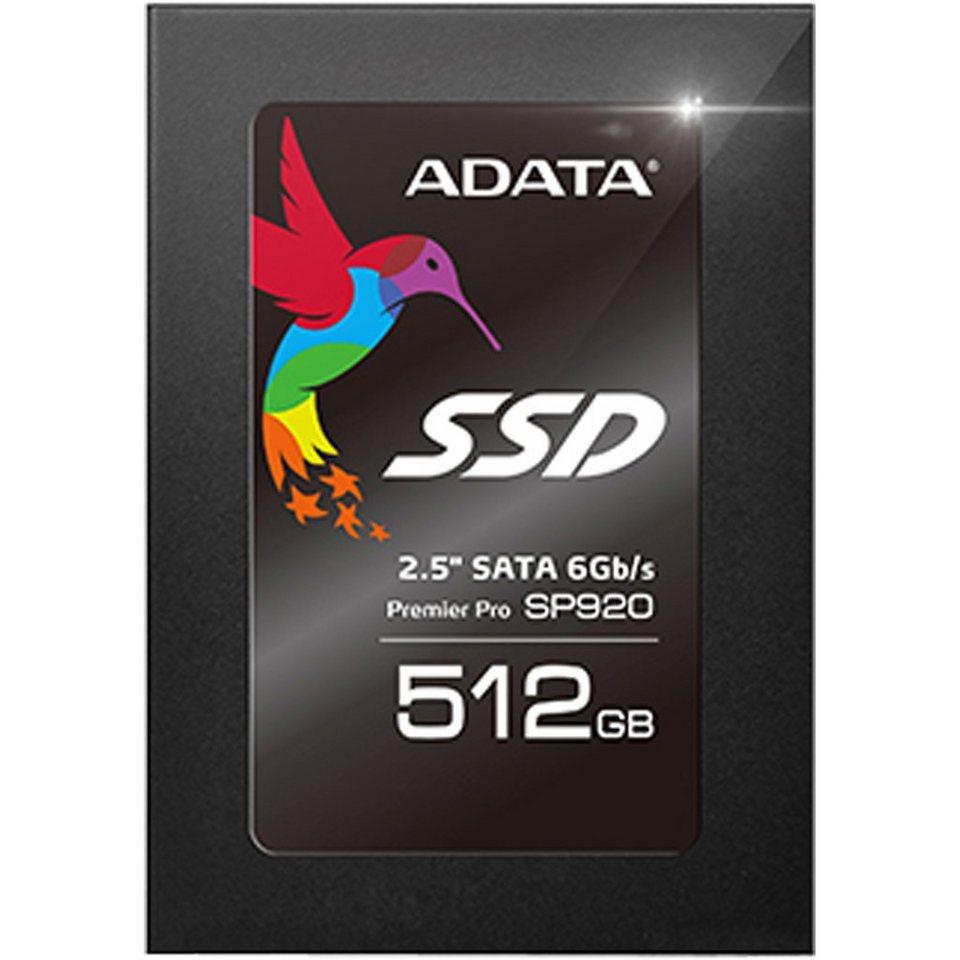 "ADATA Solid State Drive »SP920 2,5"" SSD 512 GB«"