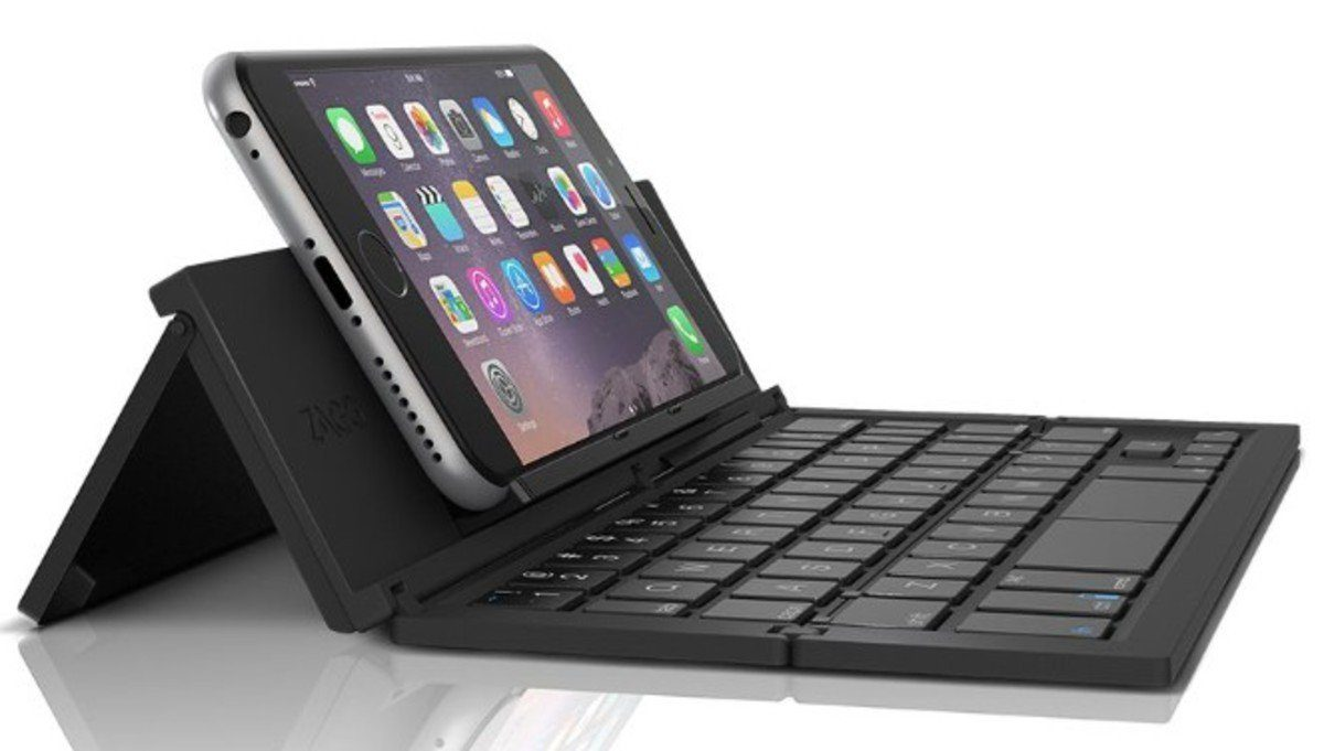 ZAGG Tastatur »Pocket Stand Keyboard für iOS, Android & Win«