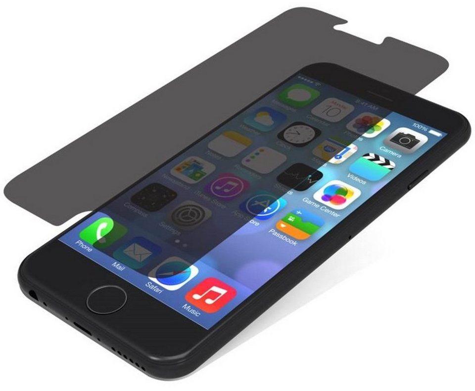invisibleSHIELD Folie »Glass Privacy Schutzfolie für Apple iPhone 6 5.5« in Transparent