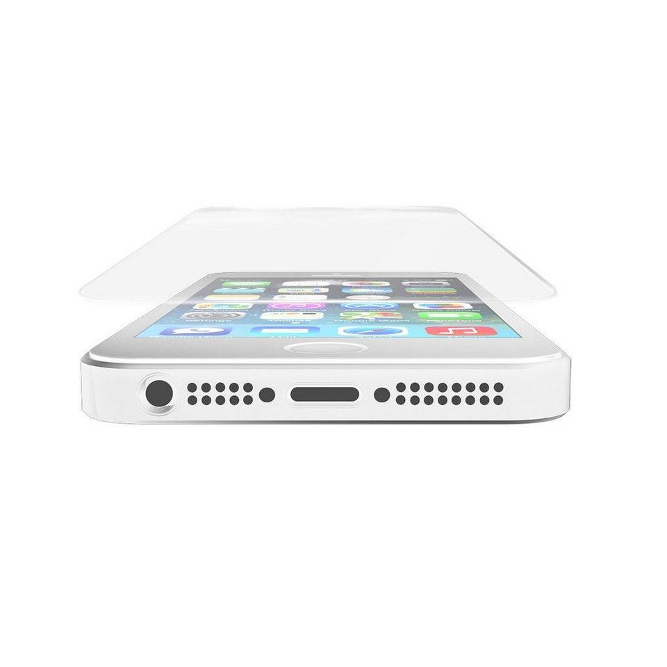 invisibleSHIELD Folie »Glass Displayschutzfolie für Apple iPhone 5/5S/5C« in Transparent