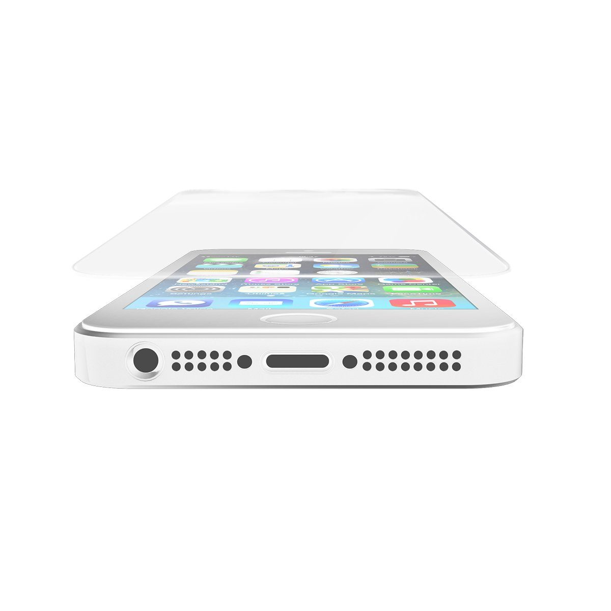 invisibleSHIELD Folie »Glass Displayschutzfolie für Apple iPhone 5/5S/5C«