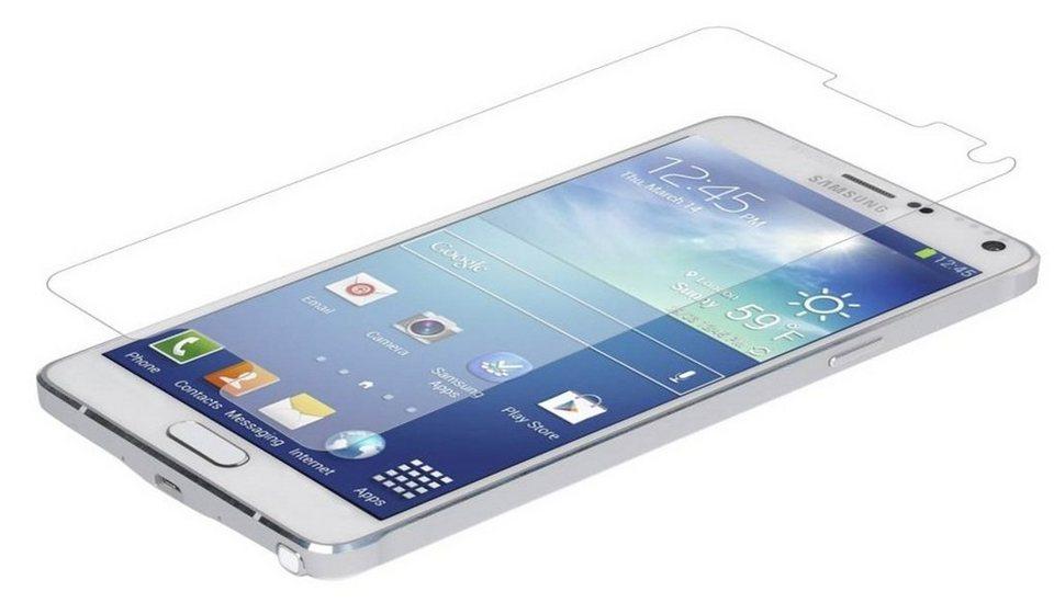 invisibleSHIELD Folie »Glass Displayschutzfolie für Samsung Note 4« in Transparent