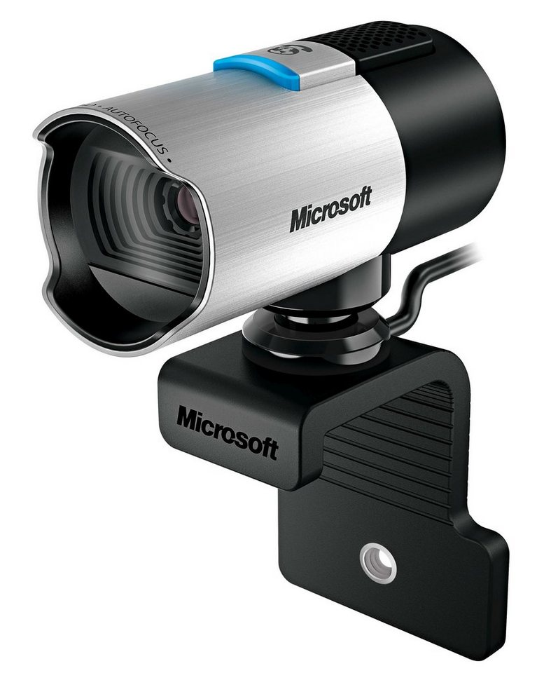 Microsoft MultiMedia »LifeCam Studio« in silber