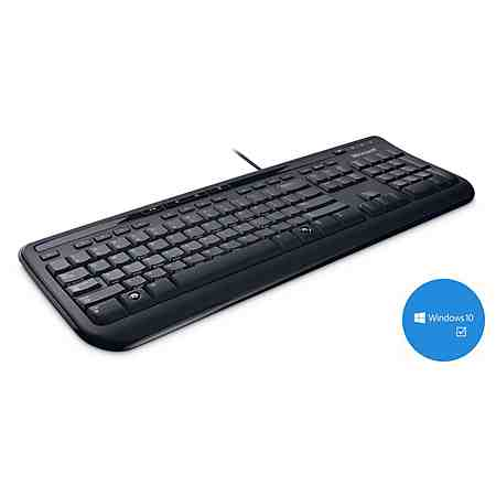 Microsoft Tastatur »Wired Keyboard 600 «