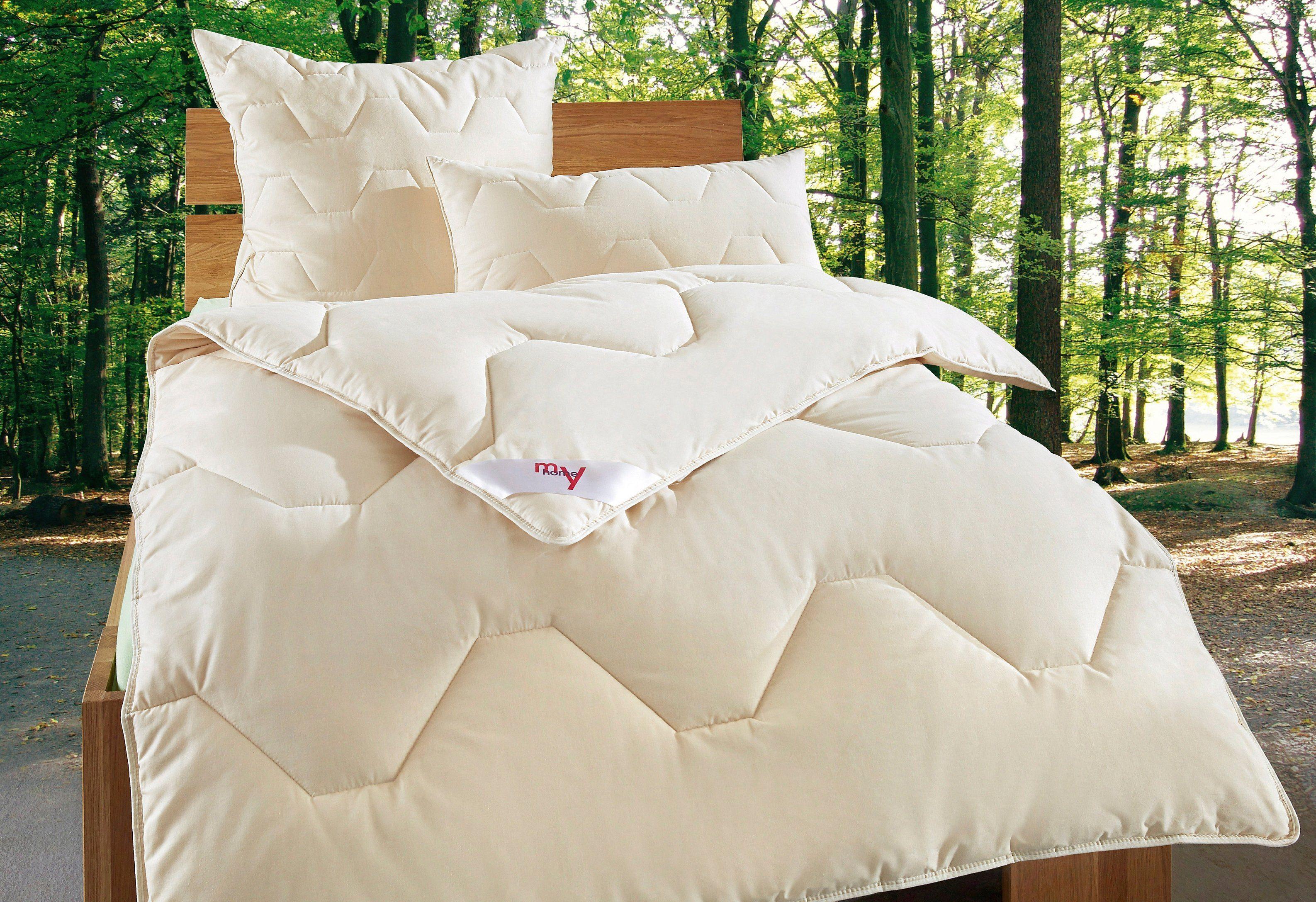 Naturfaserbettdecke, my home »Baumwolle 60 °C«, Warm