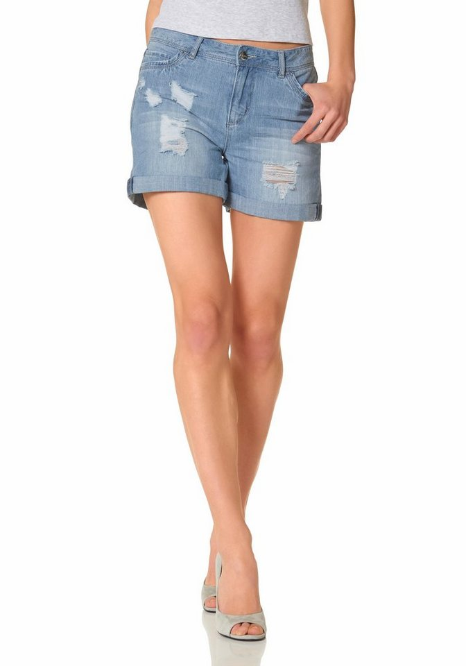 Aniston Shorts in blue-used