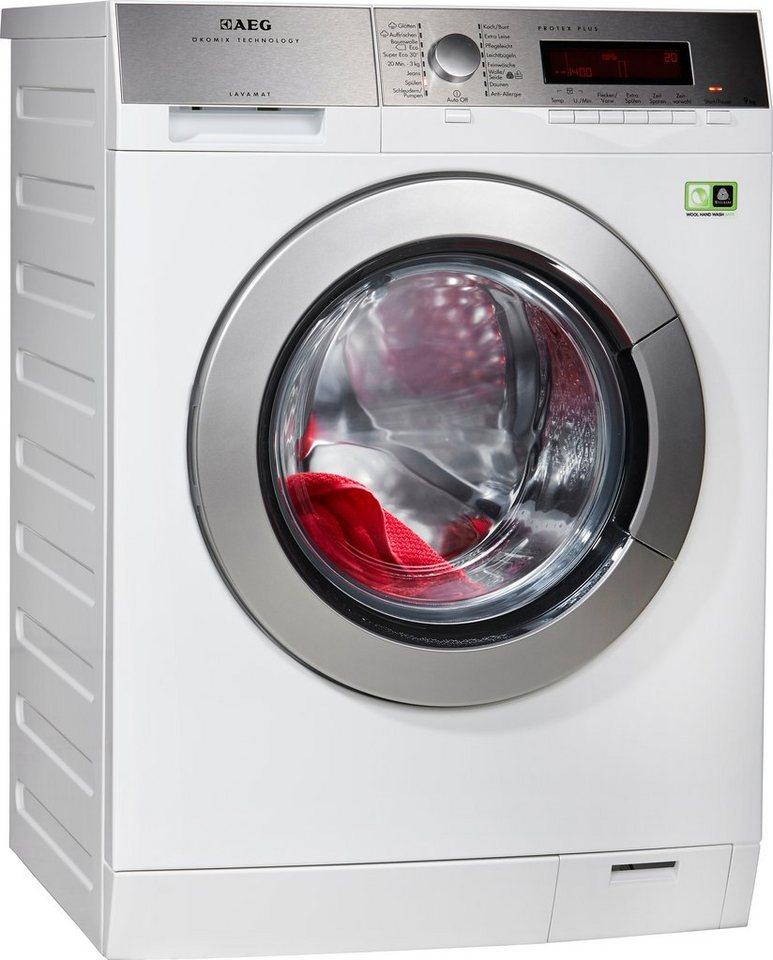 AEG Waschmaschine Lavamat L89495FL2, A+++, 9 kg, 1400 U/Min in weiß