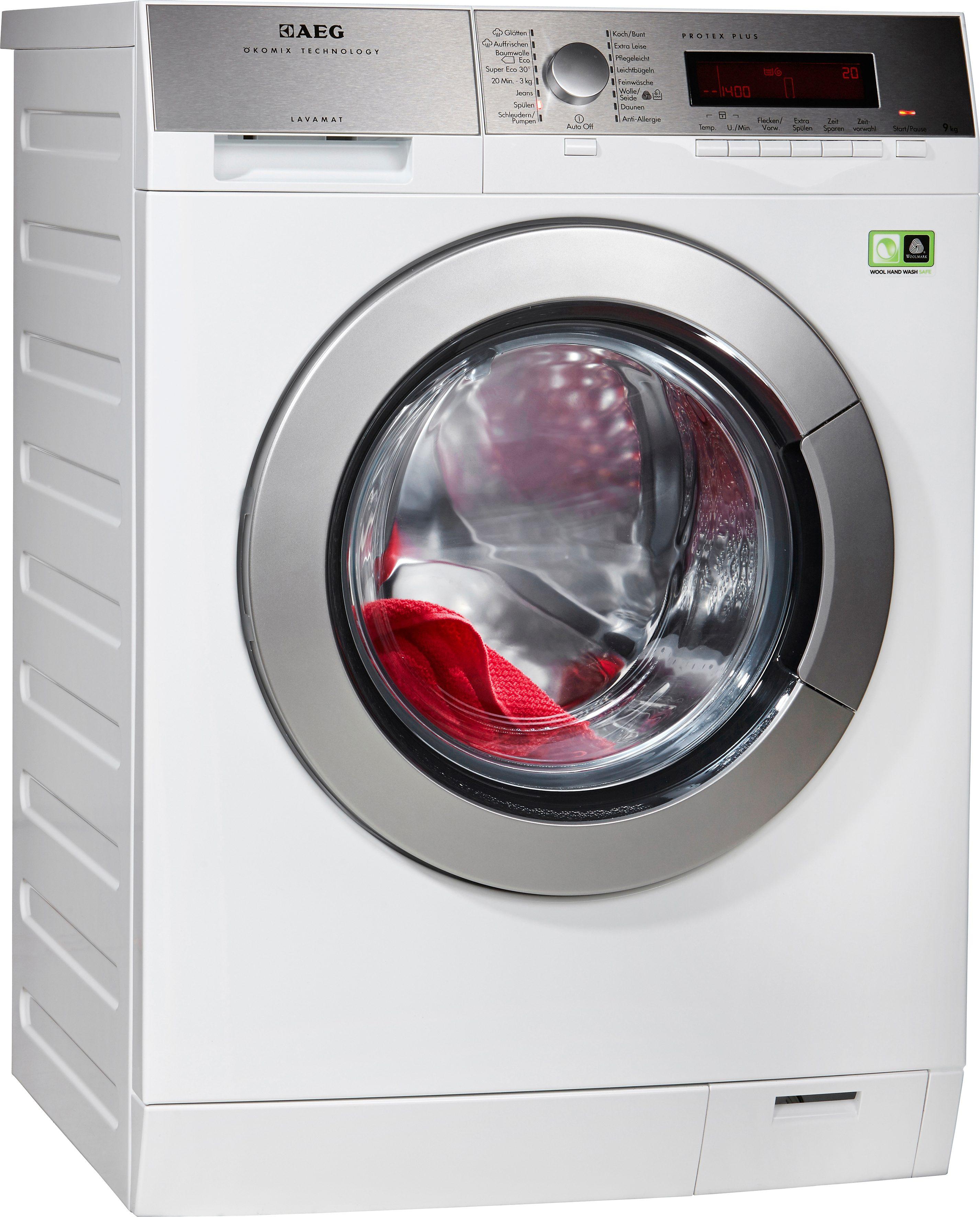 AEG Waschmaschine Lavamat L89495FL2, A+++, 9 kg, 1400 U/Min
