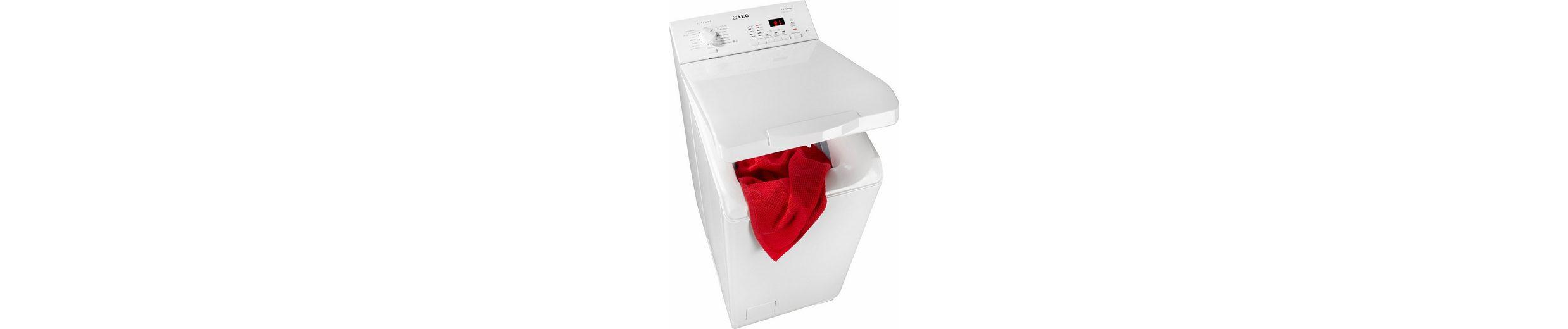 AEG Waschmaschine Toplader Lavamat L62460TL, A+++, 6 kg, 1400 U/Min