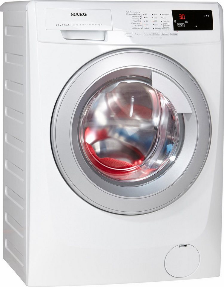 aeg waschmaschine lavamat l68470vfl 7 kg 1400 u min. Black Bedroom Furniture Sets. Home Design Ideas