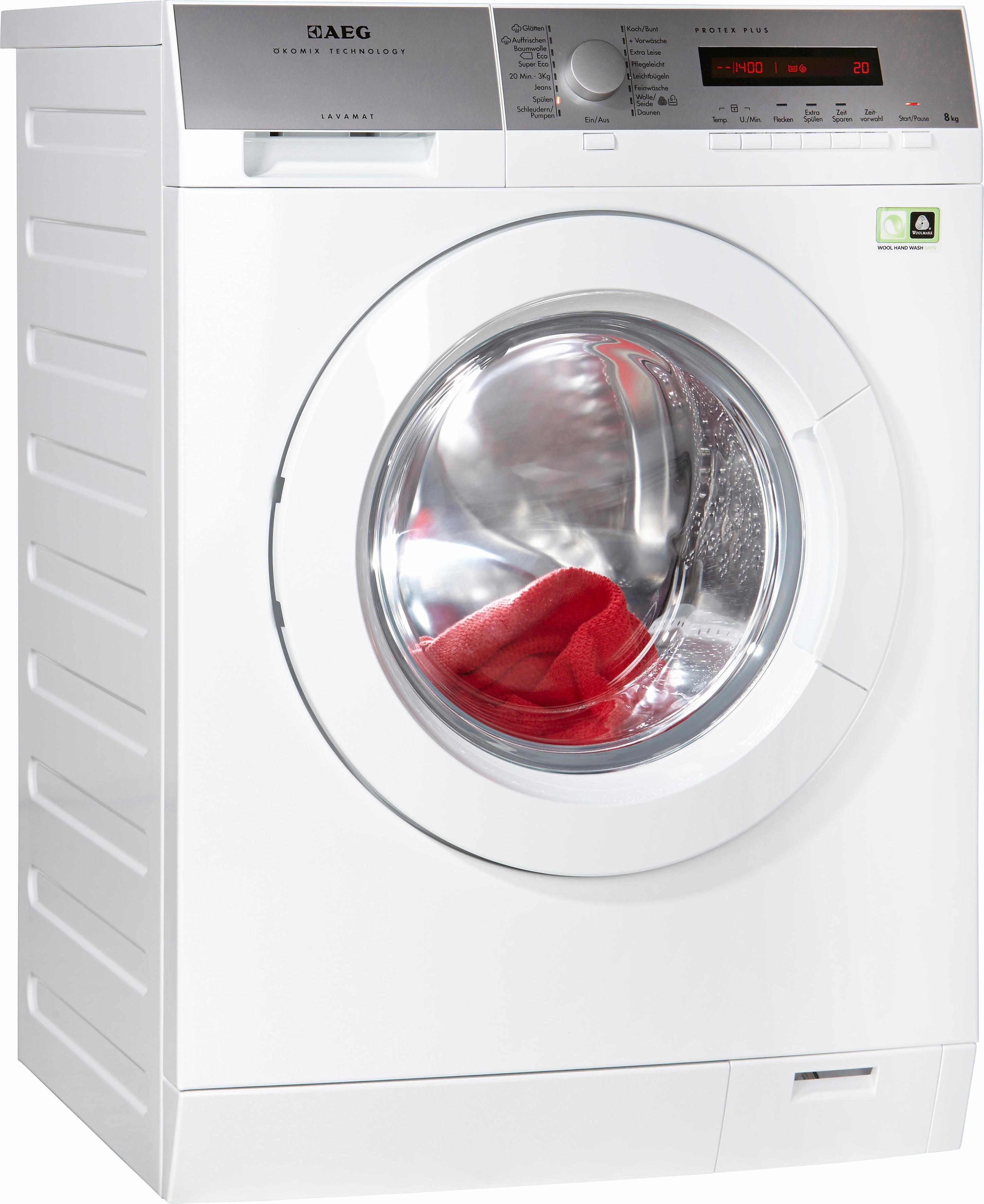 AEG Waschmaschine Lavamat L79485FL, A+++, 8 kg, 1400 U/Min