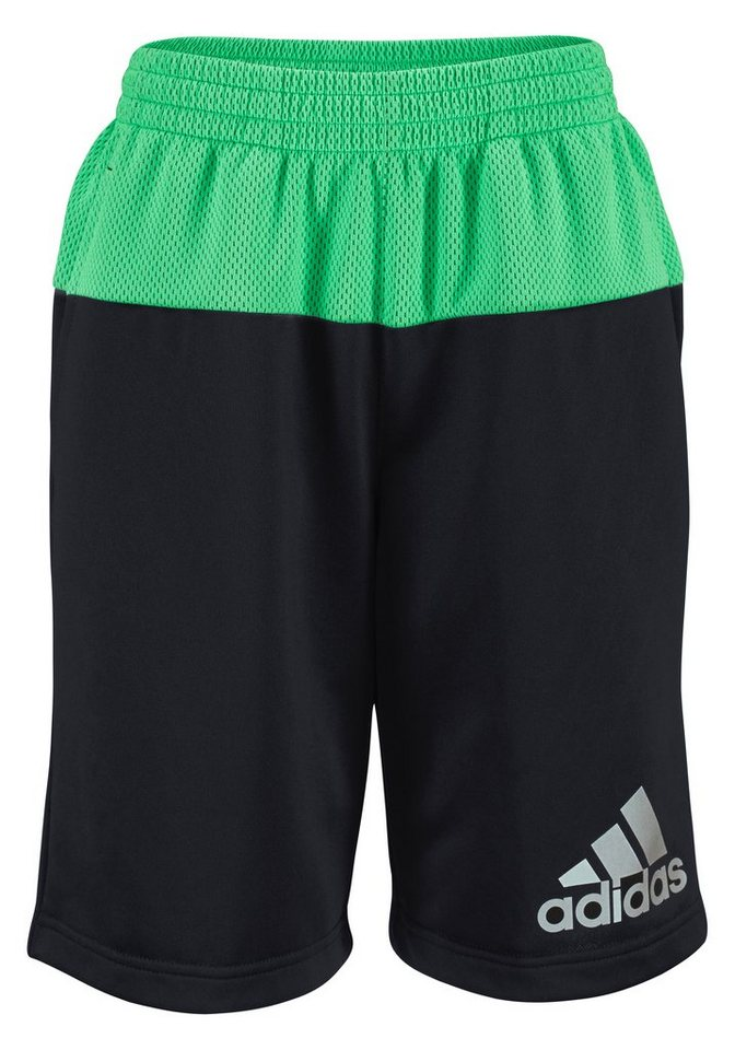 adidas Performance YB AIS SWEAT SHORT Shorts in Schwarz-Grün