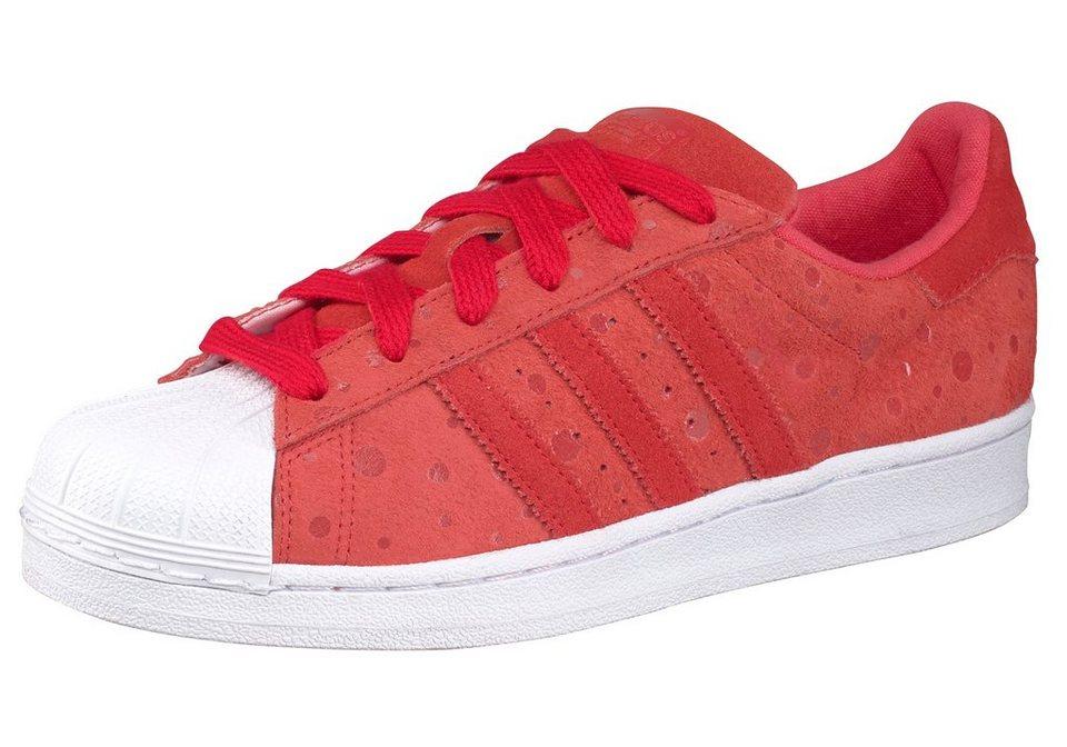 adidas Originals Superstar W Sneaker in Rot