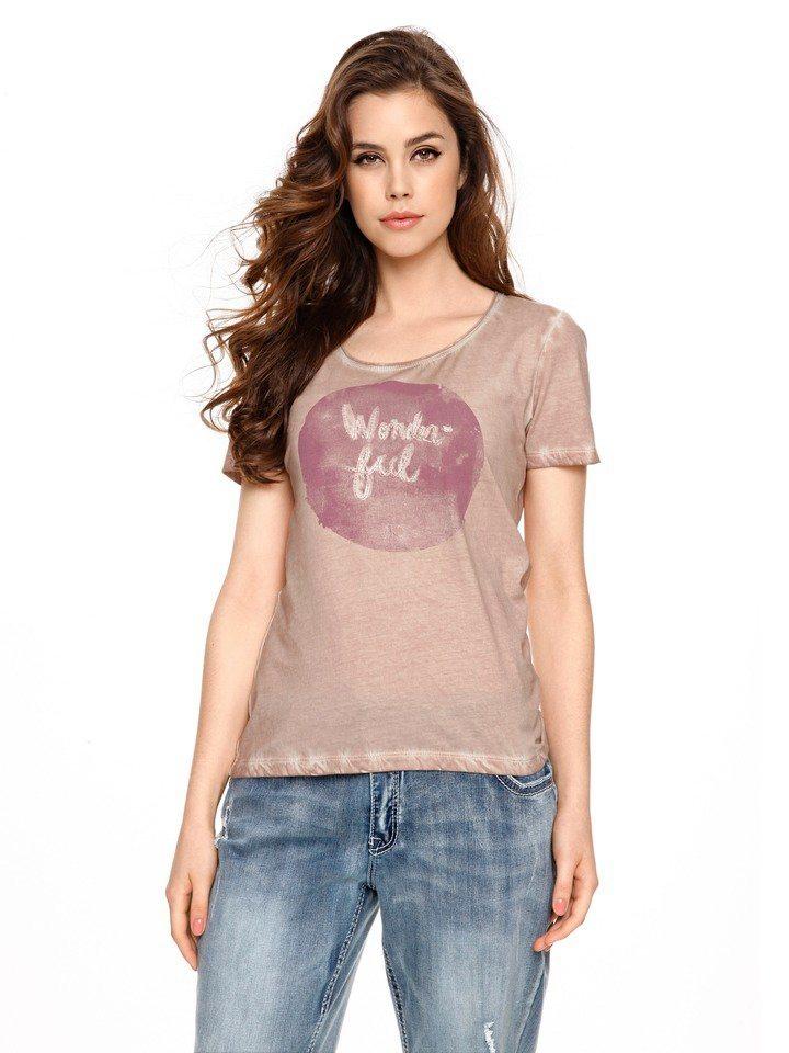T-Shirt in rosé