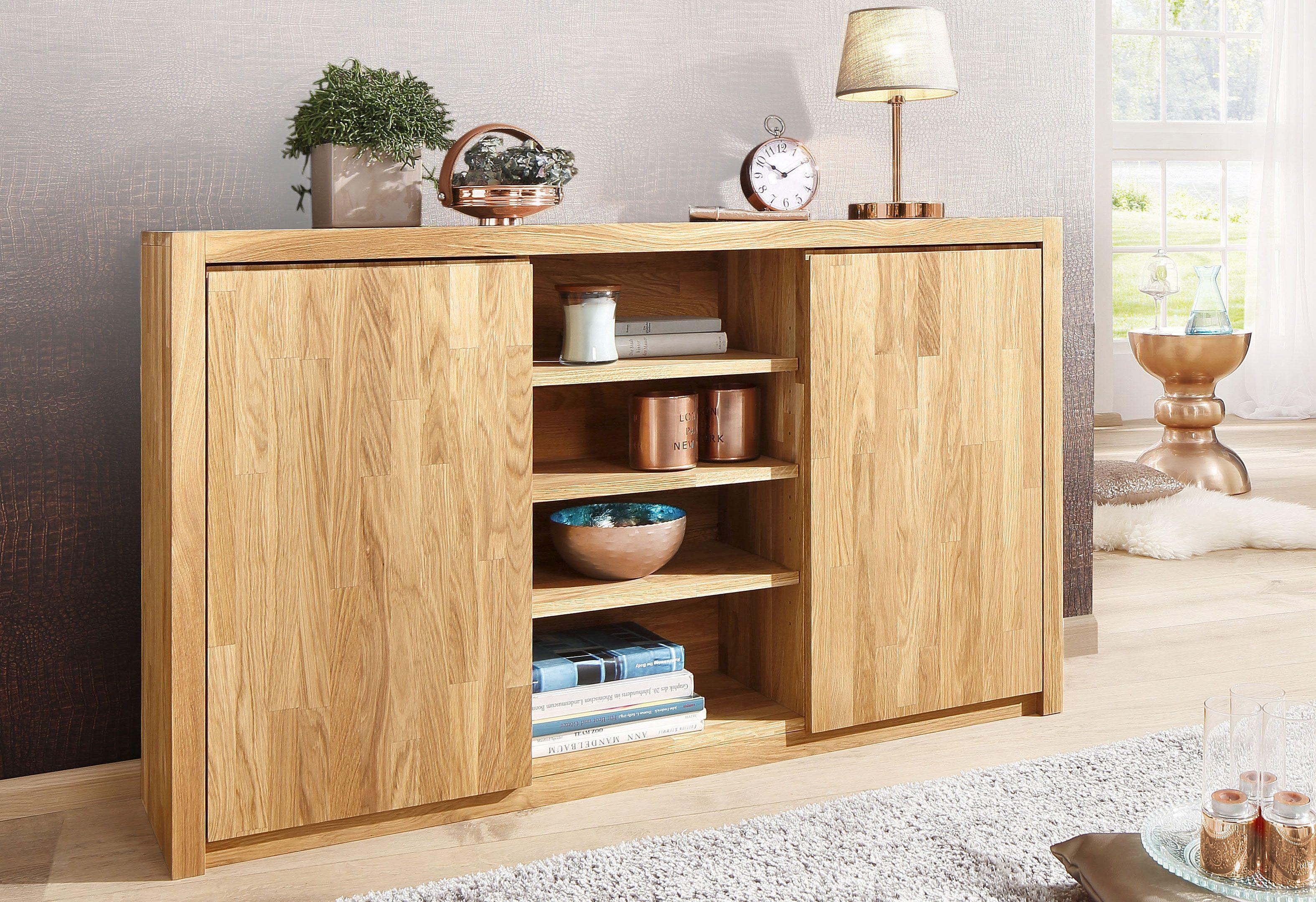 Home affaire Sideboard »Una«, Breite 137 cm