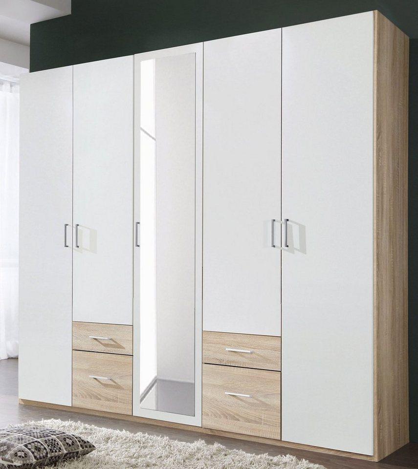 Wimex Kleiderschrank »Freiburg«, Viel Stauraum durch jeweils 14 Schubkästen  online kaufen | OTTO