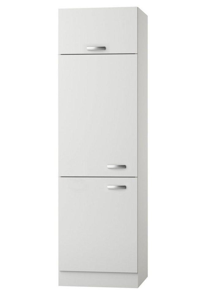 Kühlumbauschrank »Lagos«, Höhe 206,8 cm in weiß