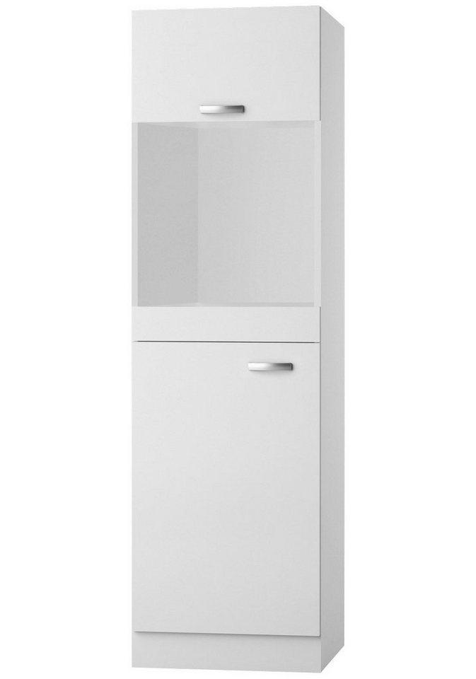 Kombinierter Backofen-Kühlumbauschrank »Lagos«, Höhe 206,8 cm in weiß