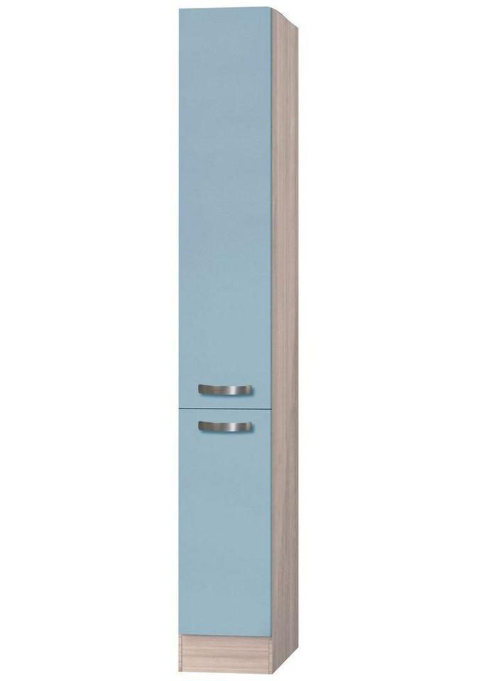 Apothekerschrank »Skagen«, Höhe 206,8 cm in blau