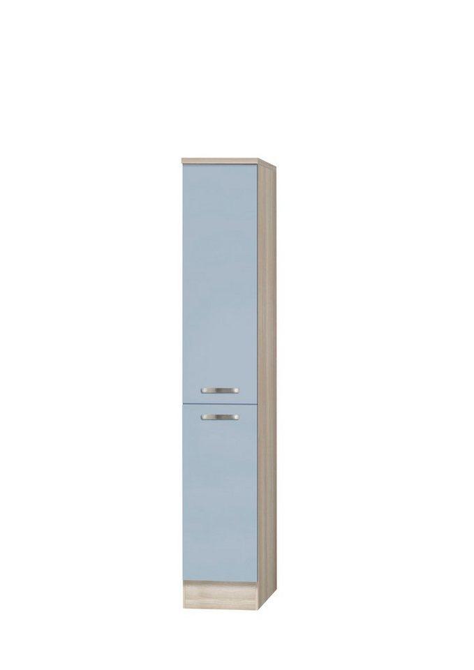 Apothekerschrank »Skagen«, Höhe 174,4 cm in blau