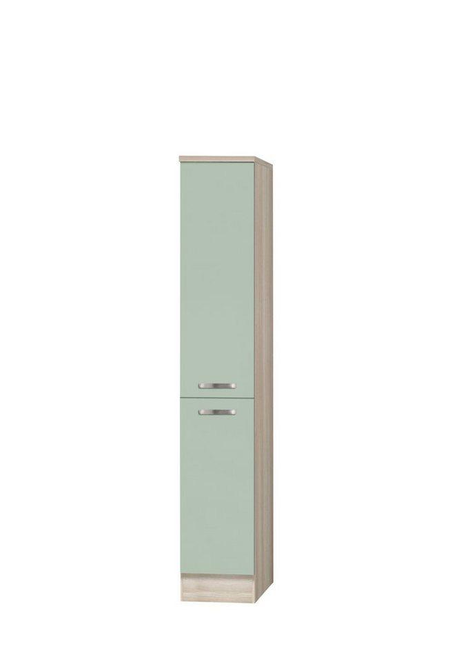 Apothekerschrank »Skagen«, Höhe 174,4 cm in grün