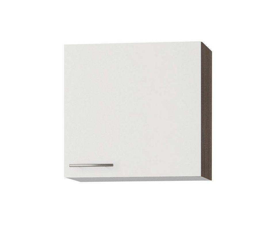 Küchenhängeschrank »Rabat«, Breite 60 cm in weiß/eichefarben trüffel