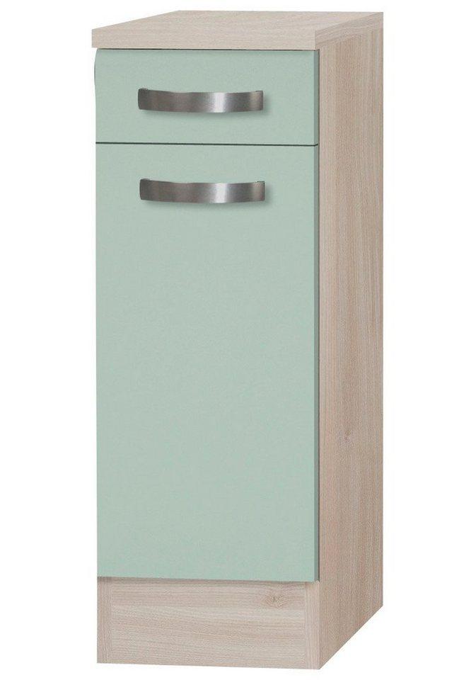 Küchenunterschrank »Skagen«, Breite 30 cm in grün