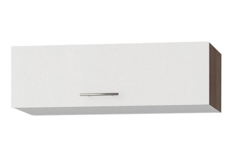 Küchenhängeschrank »Rabat«, Breite 100 cm in weiß/eichefarben trüffel
