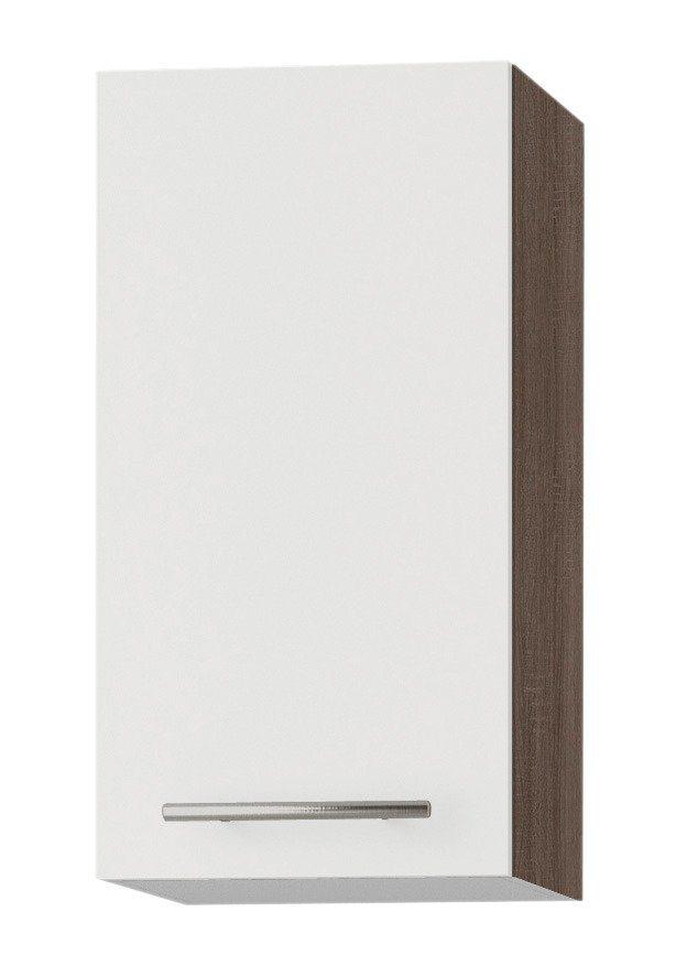Optifit Küchenhängeschrank »Rabat«, Breite 30 cm in weiß/eichefarben trüffel