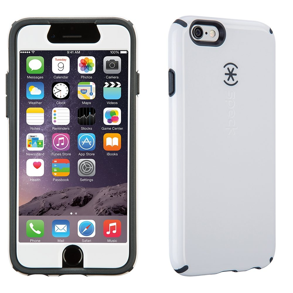 "Speck HardCase »CandyShell FacePlate iPhone (6) 4.7"" White/Charcoa«"