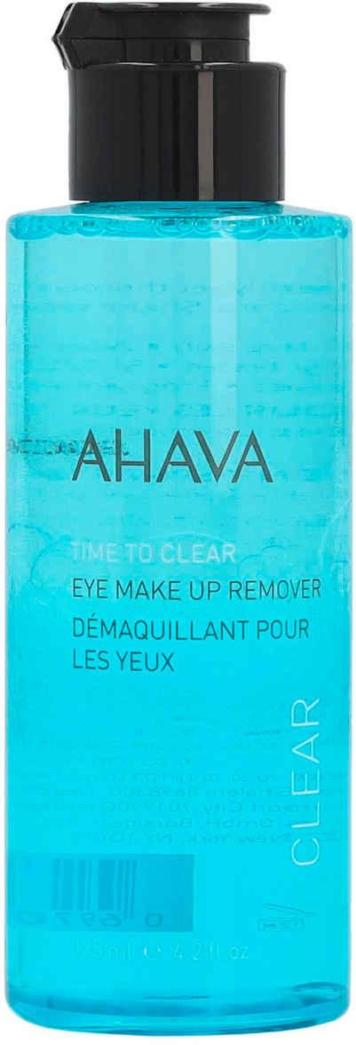 AHAVA Augen-Make-up-Entferner »Time To Clear Eye Makeup Remover«