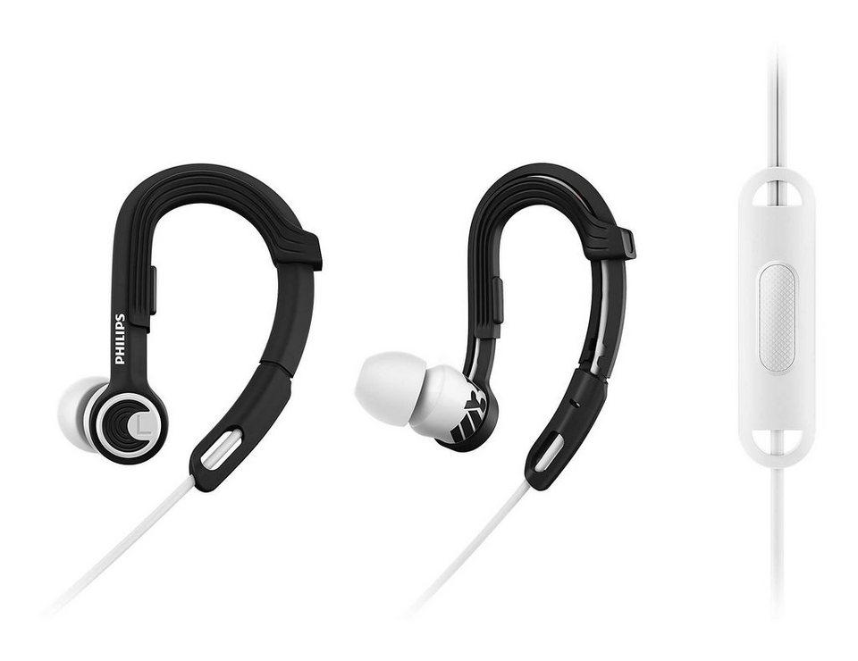 Philips Ear Clip Sportkopfhörer »SHQ3305/00« in schwarz/weiss
