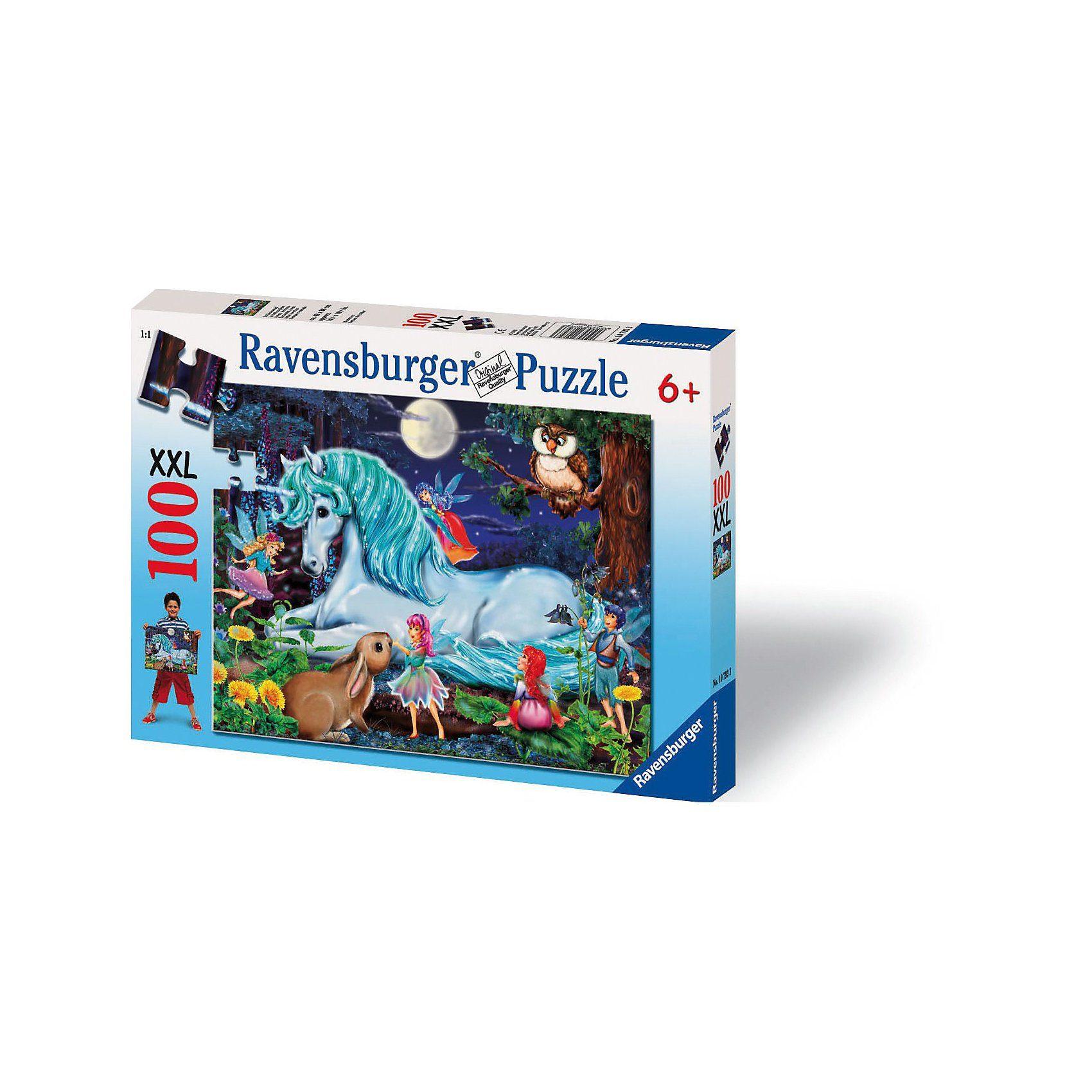 Ravensburger Puzzle XXL-100 Teile- Im Zauberwald