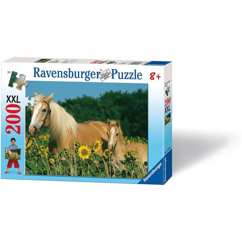 Ravensburger Puzzle XXL-200 Teile- Pferdeglück