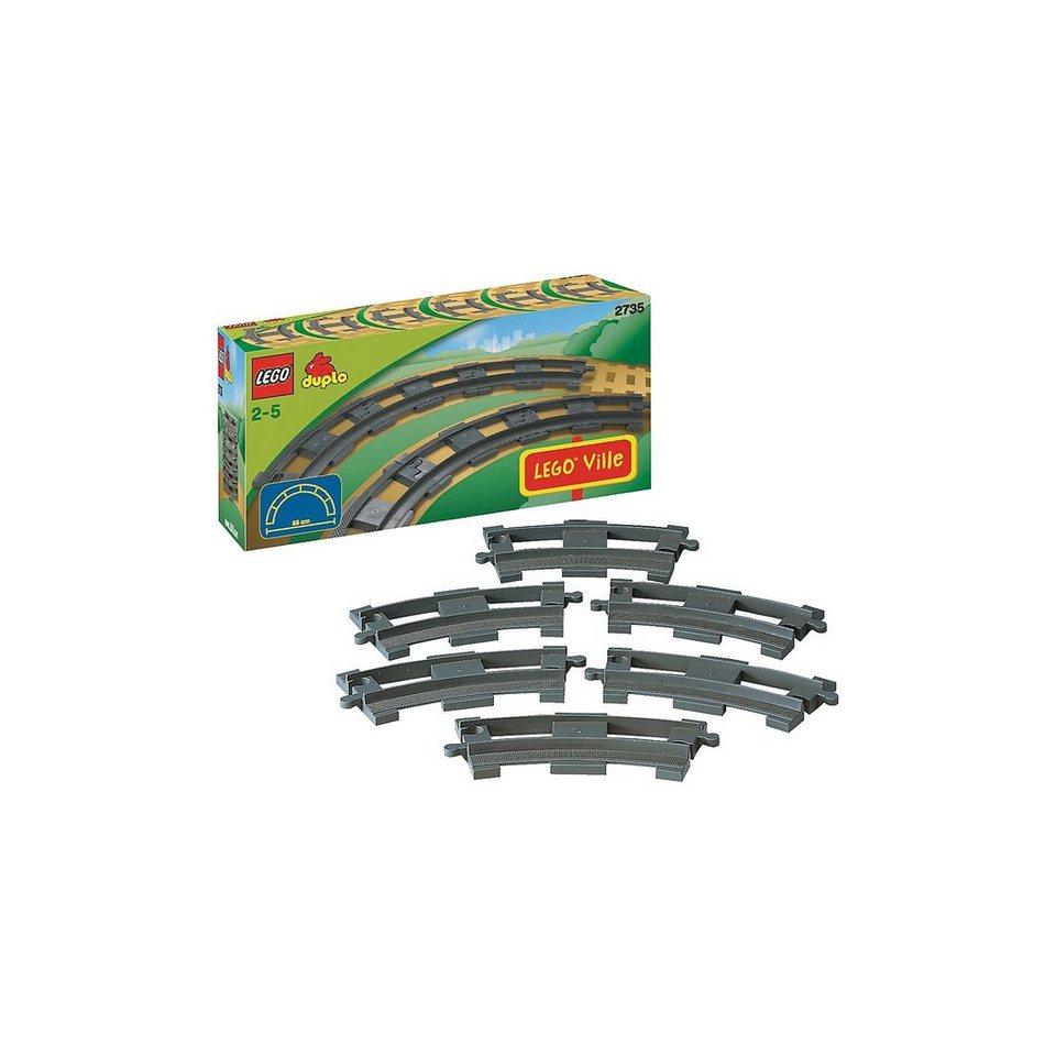 LEGO 2735 DUPLO Ville: 6 gebogene Schienen