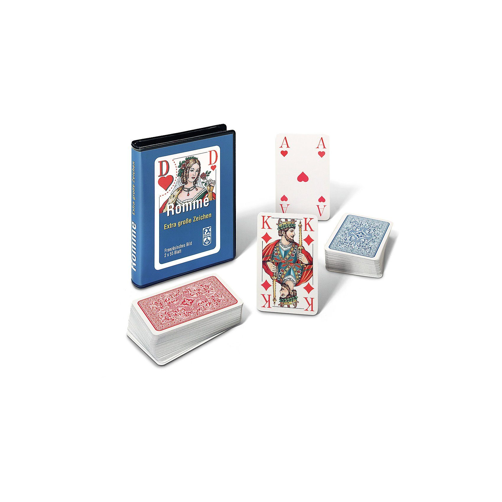 Ravensburger Kartenspiel- Rommé, Bridge, Canasta- Spezial