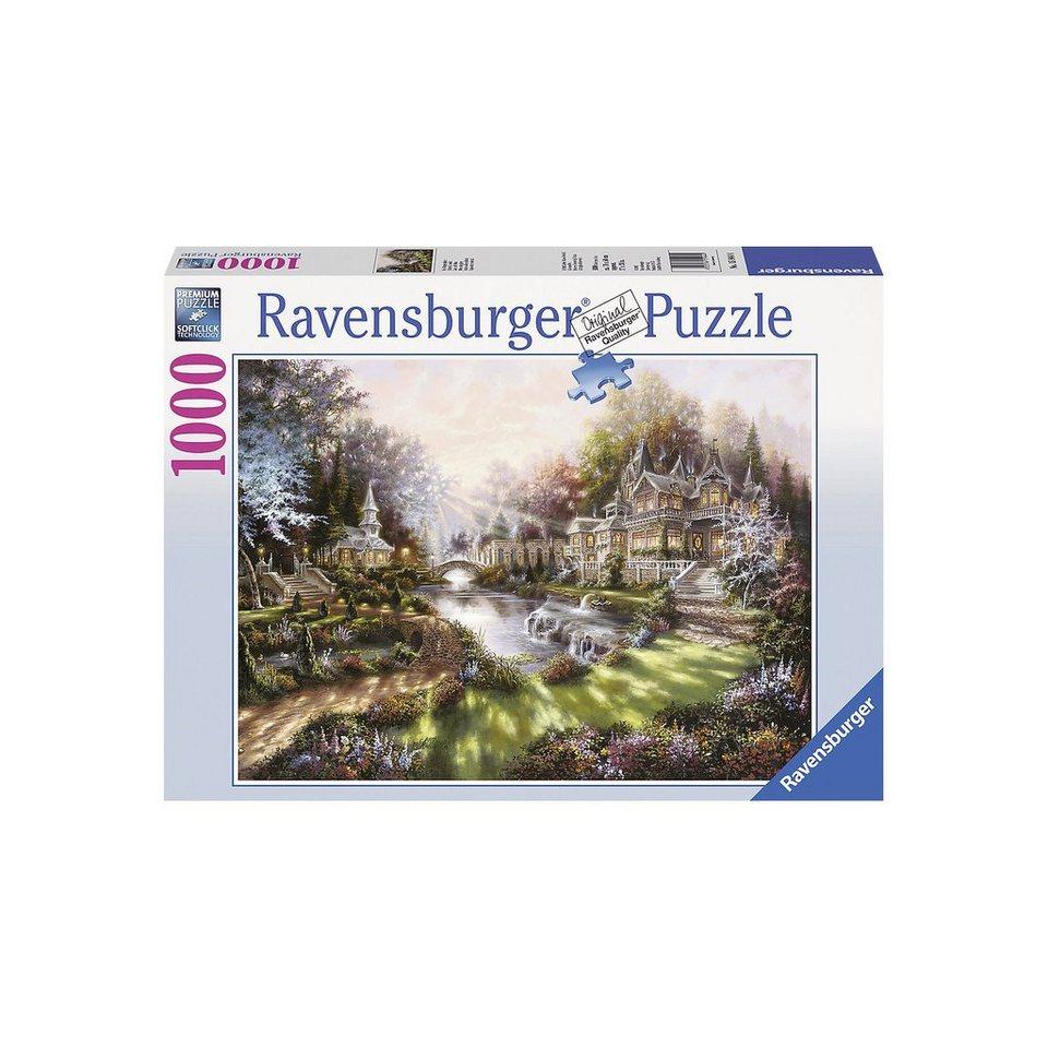Ravensburger Puzzle-1000 Teile- Im Morgenglanz