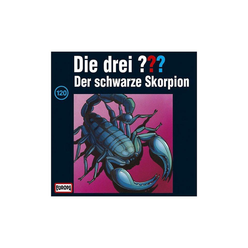 SONY BMG MUSIC CD Die drei ??? 120 (Der schwarze Skorpion)