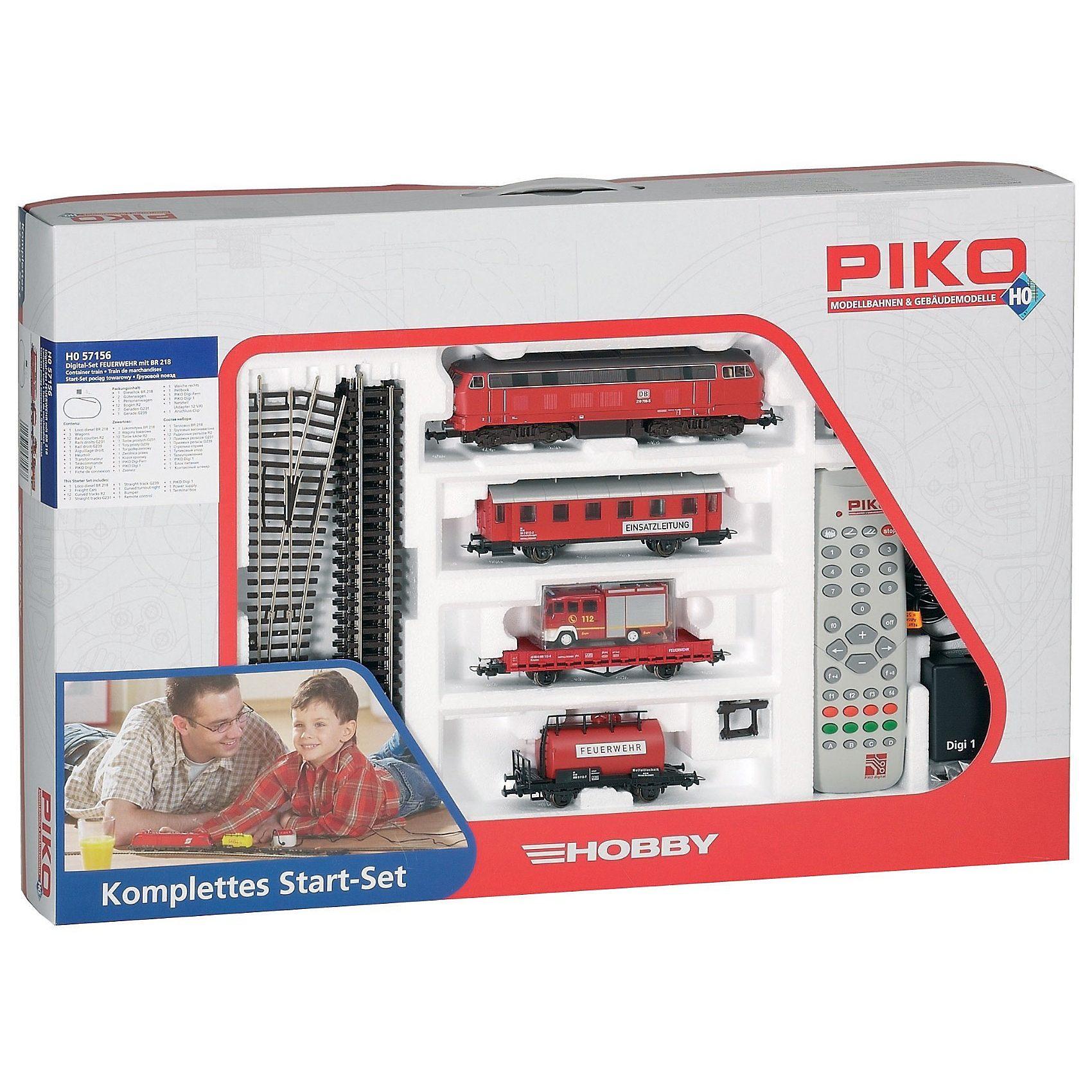 PIKO Spur H0 Digital Start-Set Feuerwehr