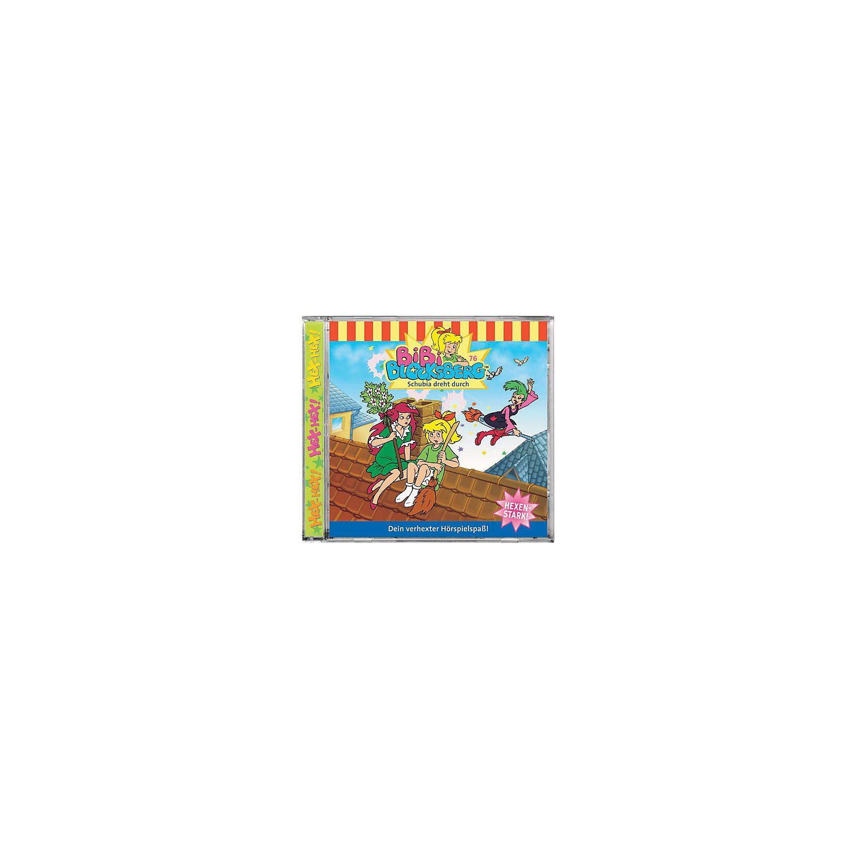 Kiddinx CD Bibi Blocksberg 76 (Schubia dreht durch)