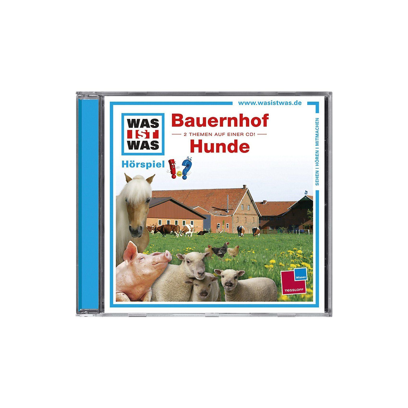 Universal CD Was ist Was 16 (Bauernhof/ Hunde)