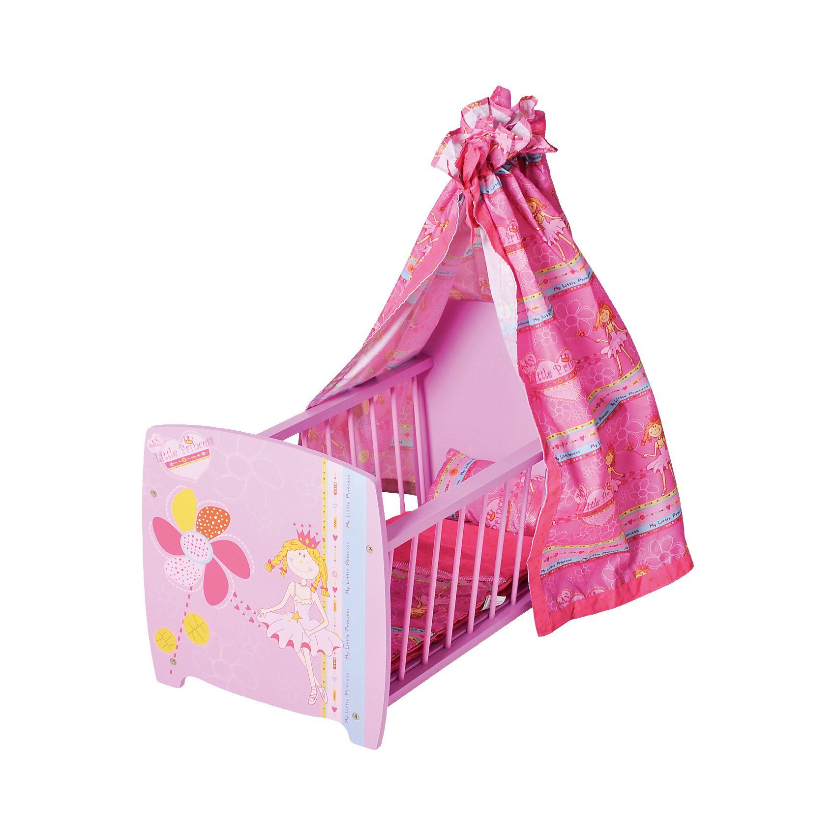 Knorrtoys® Puppenbett Little Princess, pink