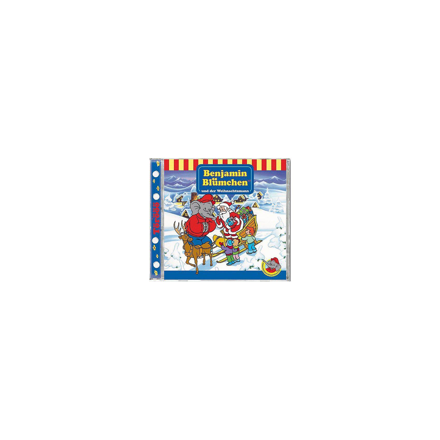 Kiddinx CD Benjamin Blümchen 73 (Weihnachtsmann)