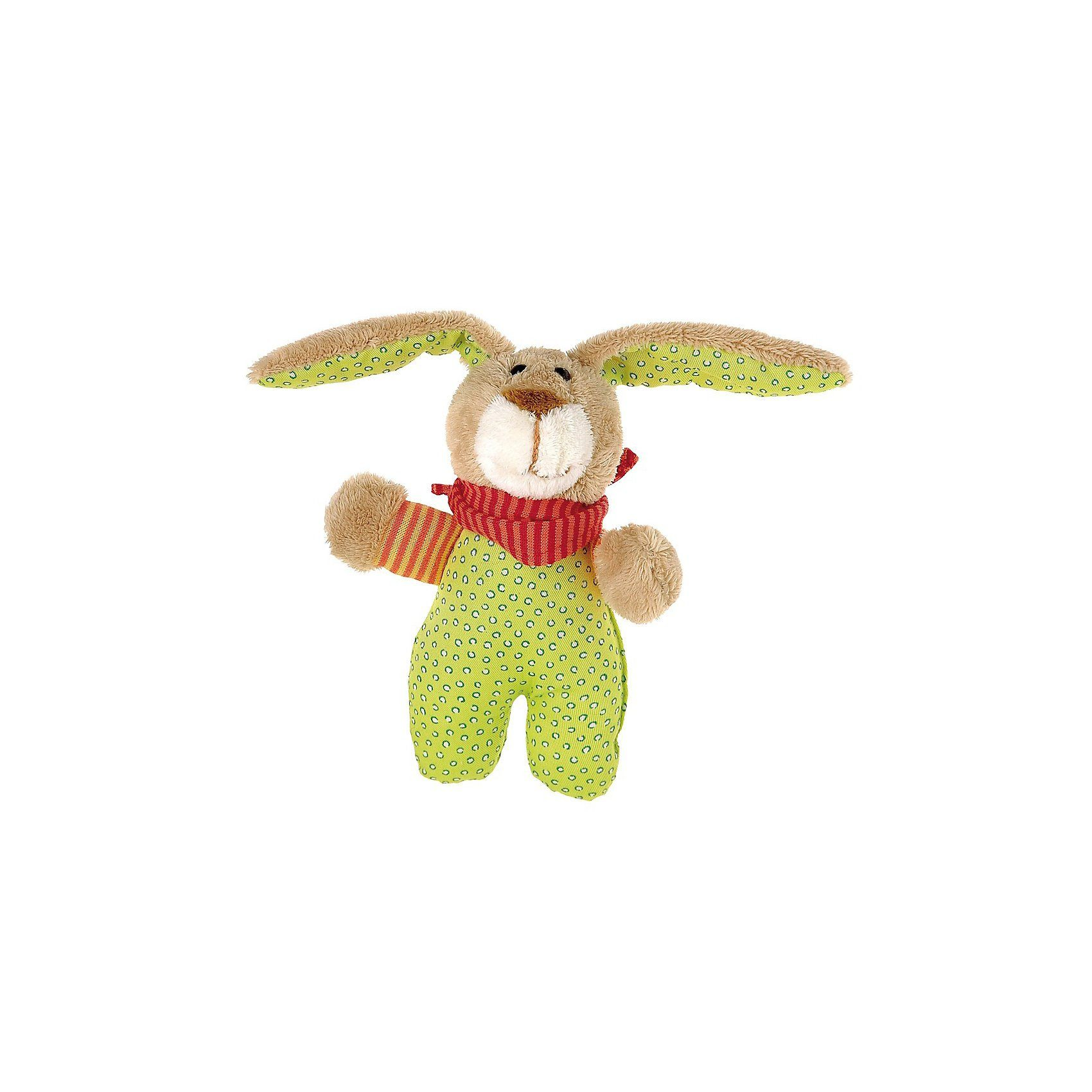sigikid Wombel Bombel: Spielfigur mit Rassel, 16 cm
