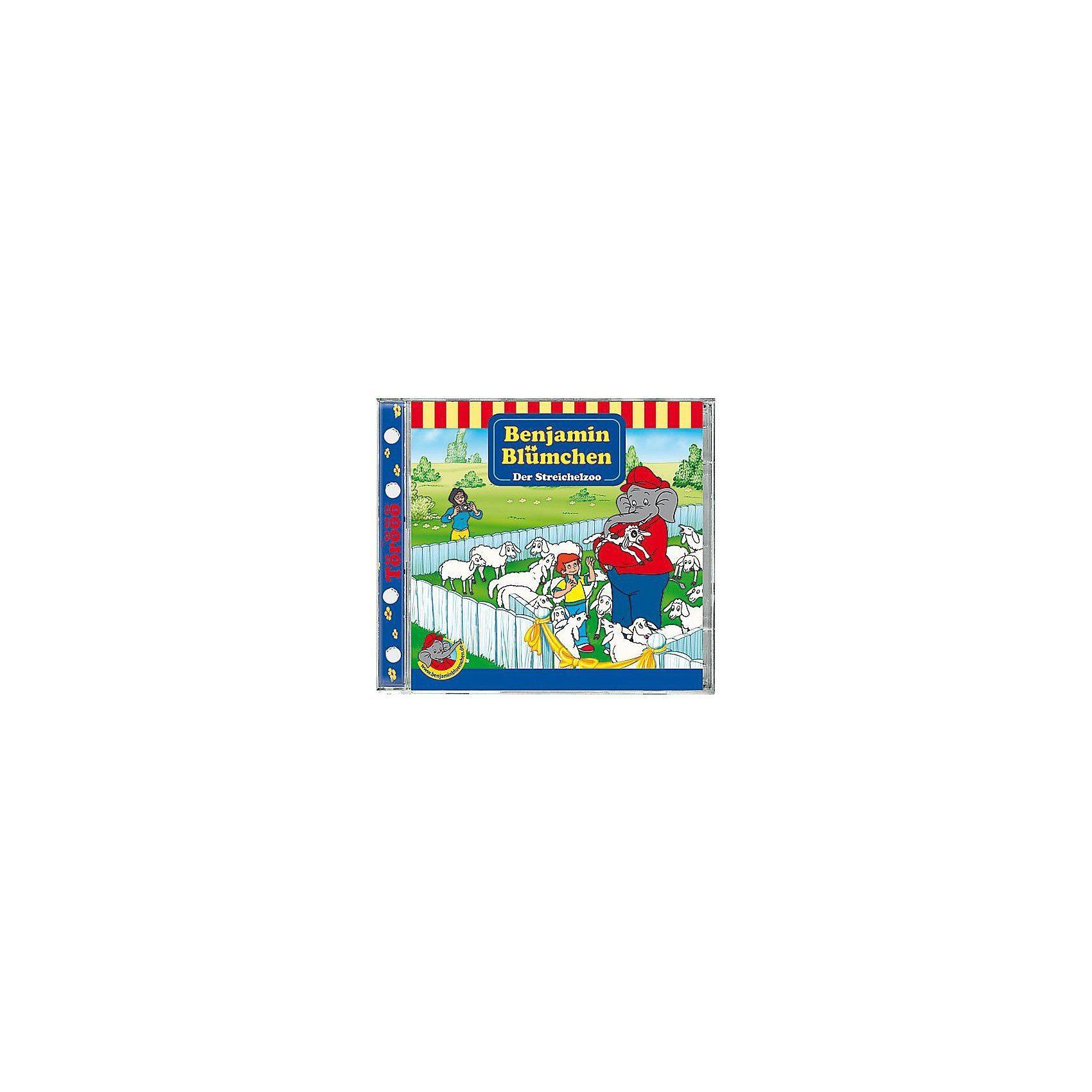 Kiddinx CD Benjamin Blümchen 94 (Streichelzoo)