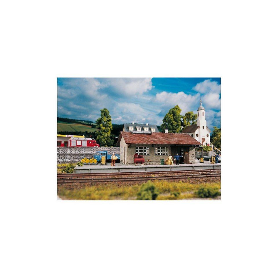 PIKO Spur H0 Bausatz Güterschuppen Burgstein