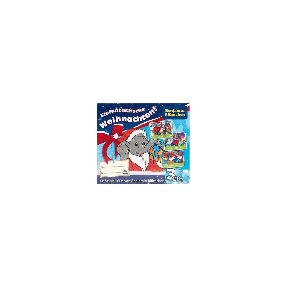 Kiddinx CD Benjamin Blümchen Weihnachts-Box (3 CDs)