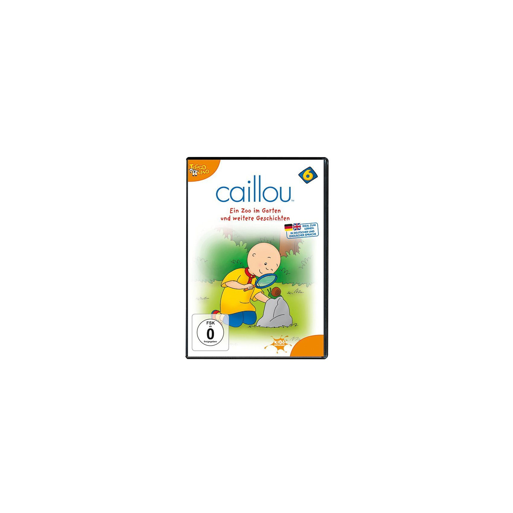 universum DVD Caillou 06: Ein Zoo im Garten und weitere Geschichten